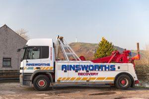 24hr Accident/Breakdown Recovery at Ainsworth's Garage Ulverston